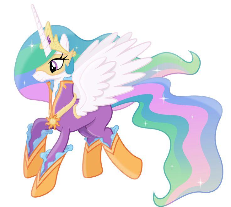 Princess celestia as a power pony by on deviantart my little pony - Princesse poney ...