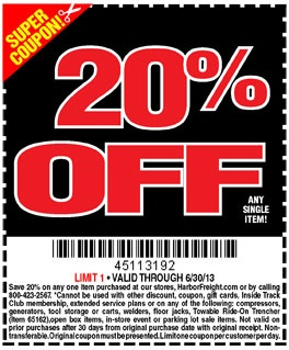 18 best coupons images on pinterest coupon coupons and 1 20 harbor freight printable coupons fandeluxe Images