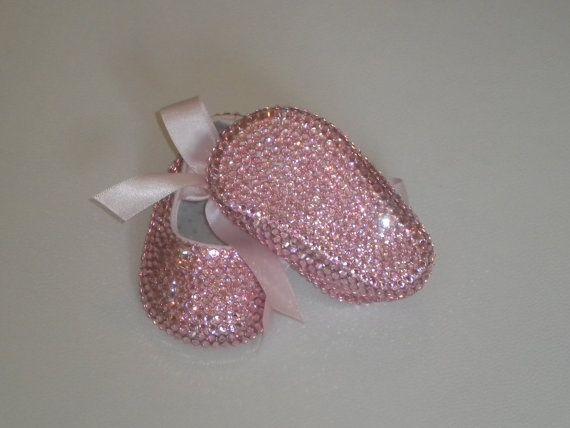 ANY COLOR Baby Girls Swarovski Covered Ballerina by DiamondCouture, $149.99