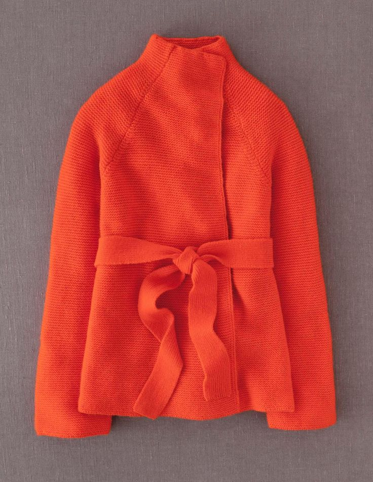 orange jacket with a great collar