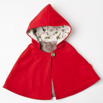 Little red-riding hood cape