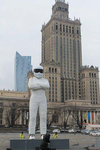 Widzieliście już wielką figurę The Stiga z programu Top Gear? Robi wrażenie! Organizatorzy zapraszają na plac Defilad dziś, na godz. 18.00.