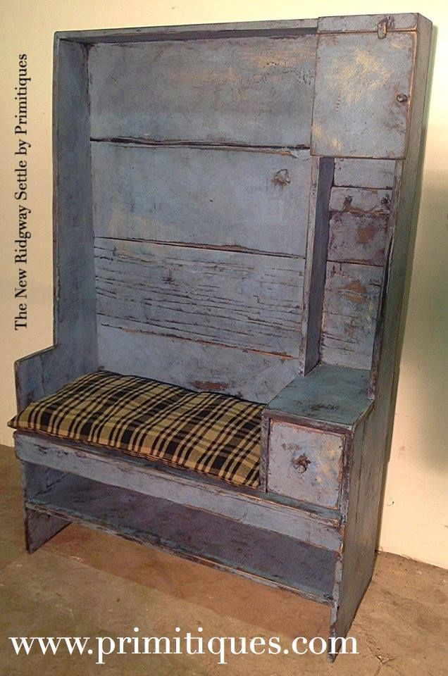 Cute Piece Primitive Benches Pinterest On
