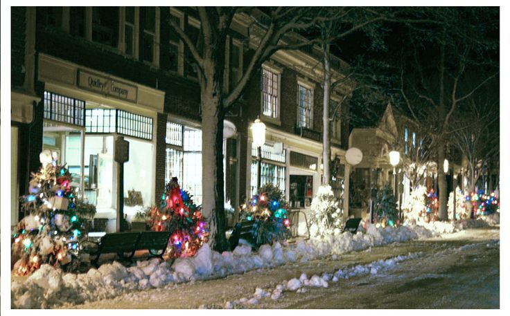 Christmas Stroll Mad About Nantucket Pinterest
