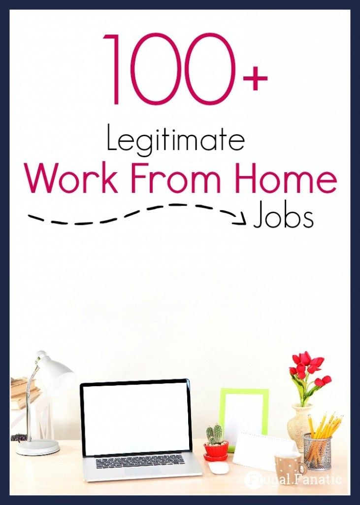 Are you looking for legitimate work from home jobs? Take a look at these 100…