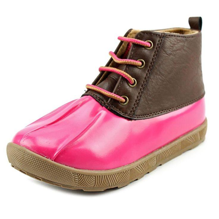 Natural Steps Ricki Boot (Toddler/Little Kid), Pink, 11 M US Little Kid. Duck boot.