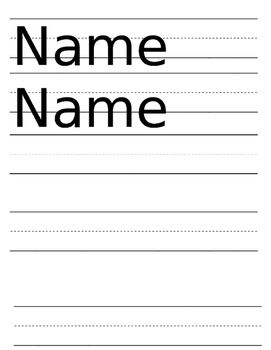 1000+ images about Name tracing worksheets or crafts on Pinterest ...