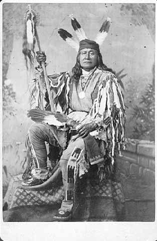 Son Of The Star (aka Rushing Bear) the son of The Star - Arikara - 1879