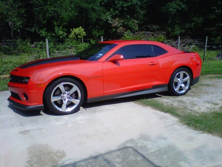 My Inferno Orange 2010 Camaro Ss Camaros Pinterest