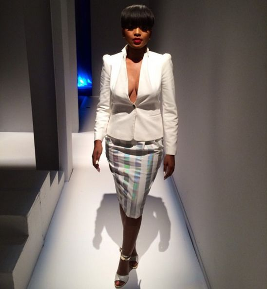 How hot was our presenter @leratokganyago last night at @safashionweek launch? #TheLink