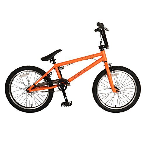 KHE Bikes Equilibrium 3 BMX Bicycle, Matte Orange, (Wheel Size 20-Inch)