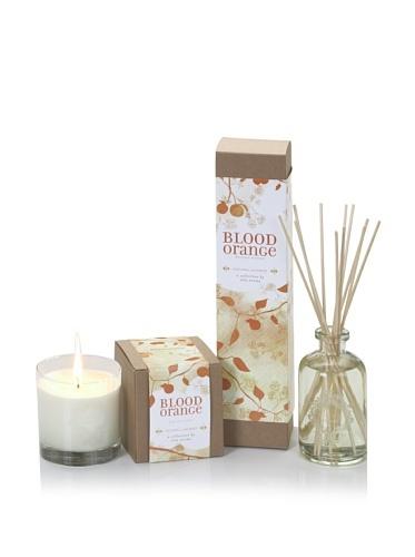 50% OFF Xela Aroma Blood Orange Natural Luxury Diffuser/Candle Set