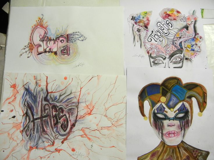 Mappenkurs f r ein grafikdesign studium kunstschule for Mappenkurs frankfurt