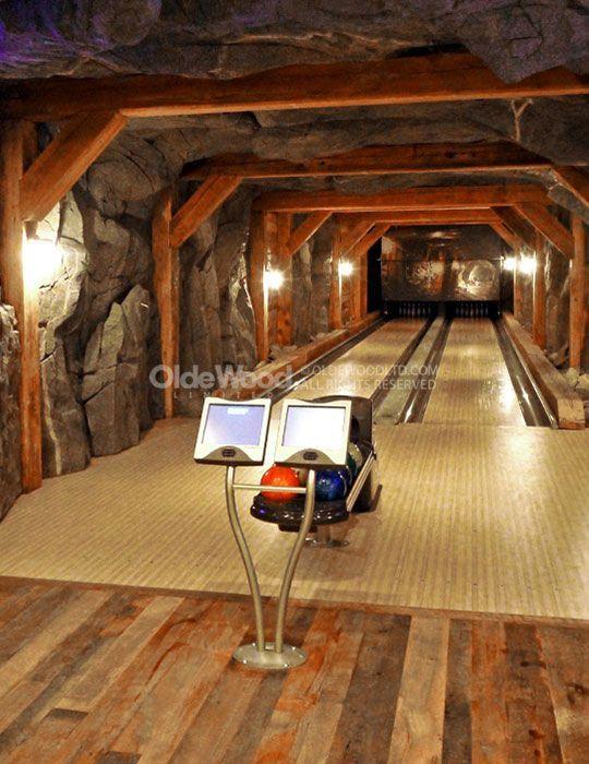 Resawn Barn Beam – Bowling Alley – Timber Framing