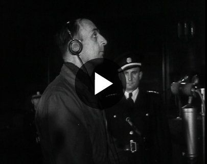 Kurt Daluege Tried & Executed - British Pathé