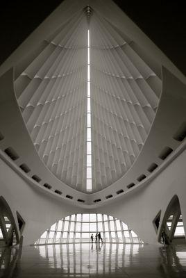 architecture, Milwaukee Art Museum, Santiago Calatrava