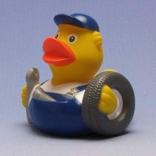 Duckshop - der Shop für Badeenten und Quietscheentchen - Quietscheente Auto-Mechaniker