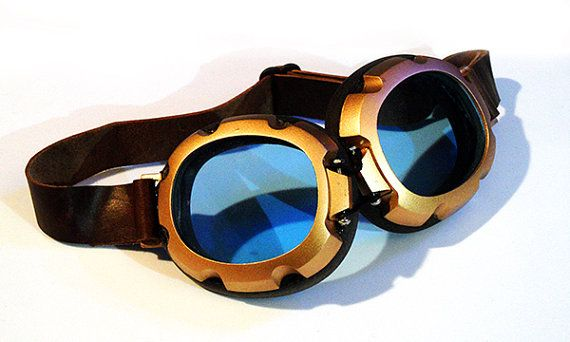 a third variation on the steam punk looking goggles for my main character. I like these ones as they are not too big around the goggles themselves or the straps, but still have the look I want.