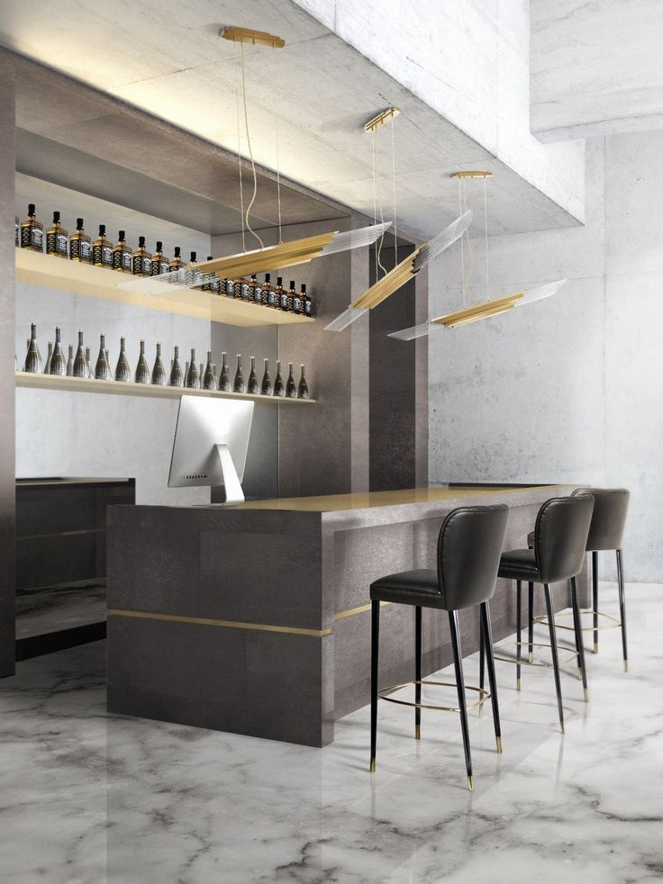 Be inspired by this decor designs for industrial kitchen.