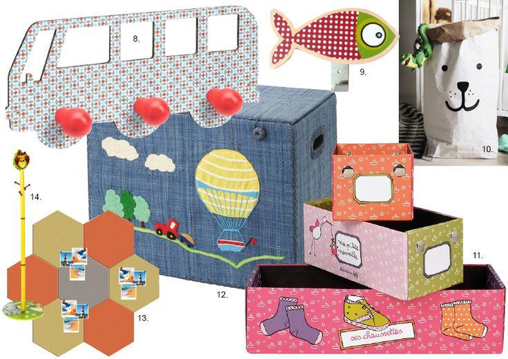 Dekorace a doplňky do dětského pokoje