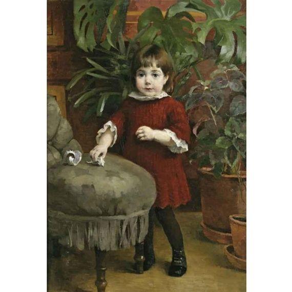 PIENI GUDRUN; LILLA GUDRUN (LITTLE GUDRUN) - 1885