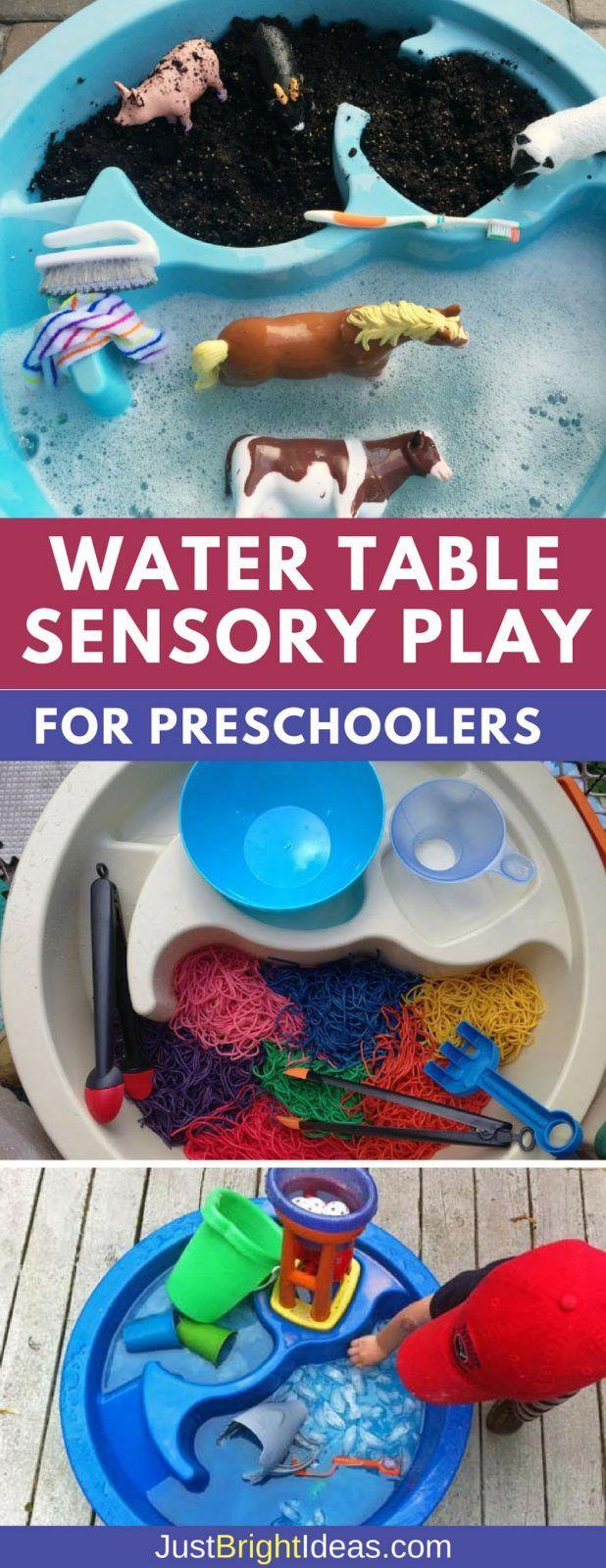 12 Sensory Water Table Activities for Preschoolers to Enjoy