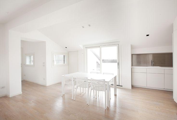 #interior #apartment #design #white #living room #white table