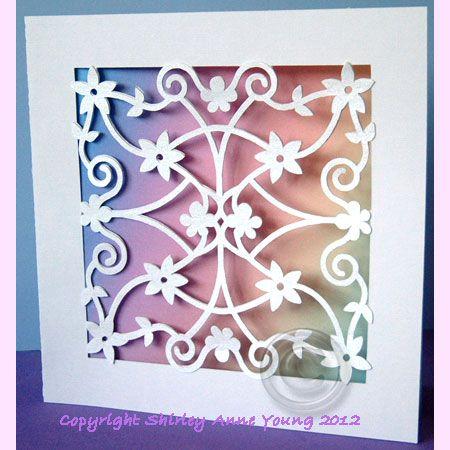 FREE SVG STUDIO GSD Cut Files Flower Lace Card Cricut