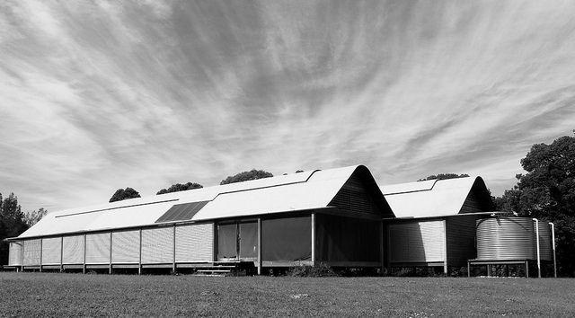 Marie Short House, Kempsey, NSW. Glenn Murcutt, 1975. by Mr Giblin, via Flickr
