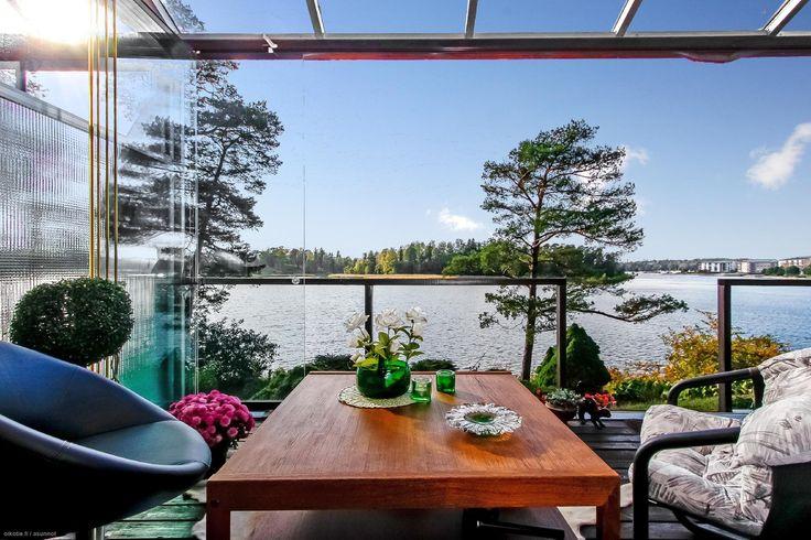 Myytävät asunnot, Kuukiventie 9, 00840 Helsinki #oikotieasunnot #terassi #terrace