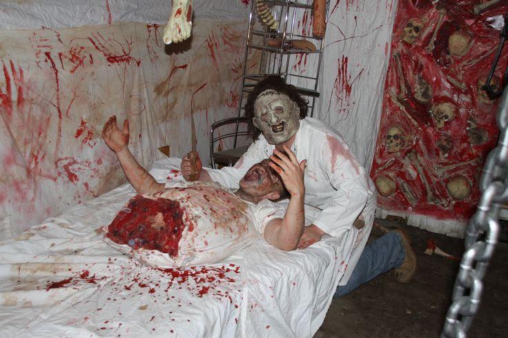 RAZZANO'S FRIGHT FOR HUNGER 2013 WATERVLIET, NY slaughter house & torso