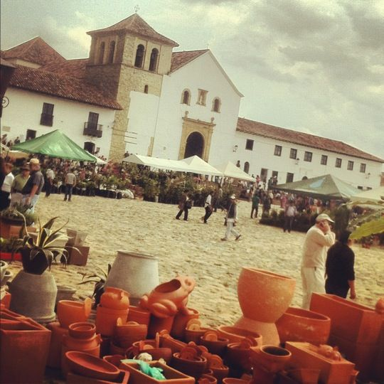 Villa de Leyva in Boyacá  colonial town outside of bogota