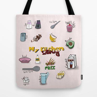 My kitchen story Tote Bag by ywanka - $22.00