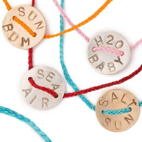 Fringe Button Bracelet