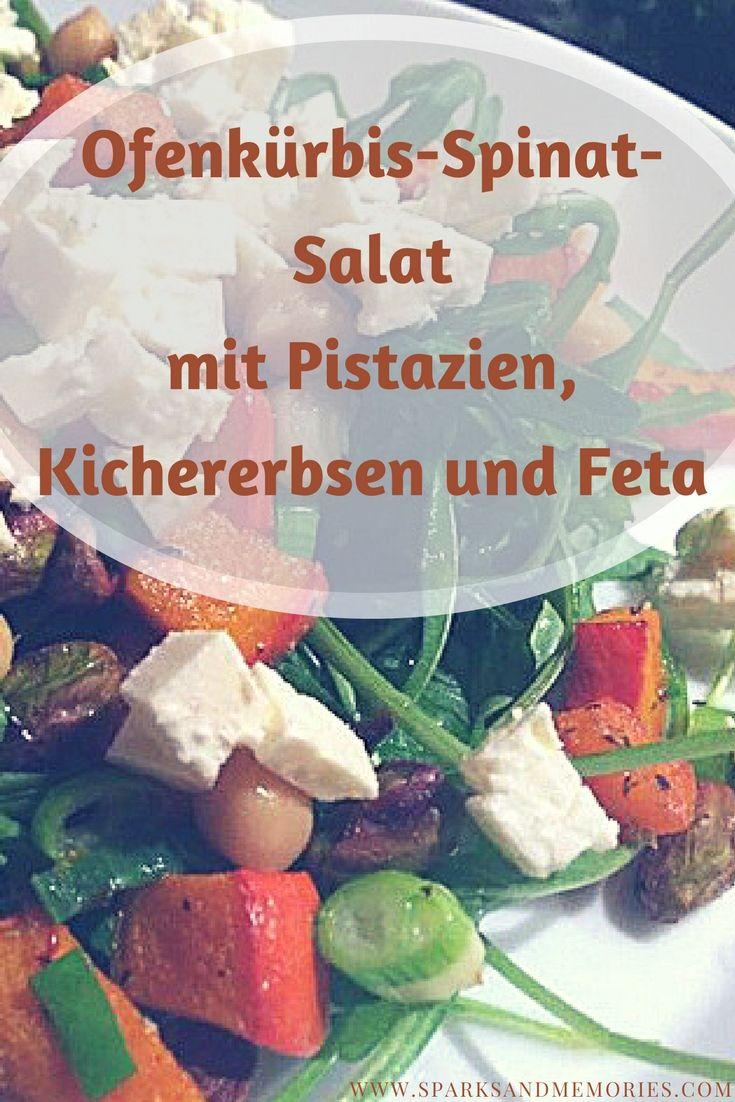 Für zwei Portionen brauchst du:  ◈ 1/2 Hokkaido-Kürbis ◈ 1 Packung Pistazien ◈ 1 Hand voll frischen Spinat oder alternativ Ruccola ◈ 1 Glas Kichererbsen ◈ 1 Packung Feta  Das ganze Rezept findest du auf dem Blog :) www.sparksandmemories.com  #rezept #kürbis #salat #gesund #herbst #winter #kichererbsen #feta #schafskäse #ziegenkäse #pistazien #hokkaido