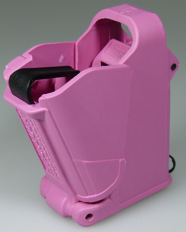The Uplula Magazine Loader is a must for every woman shooter's range bag. It makes loading magazines a breeze.