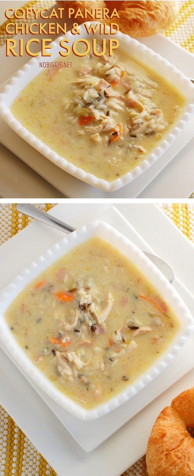 CopyCat Chicken and wild rice soup   NoBiggie.net