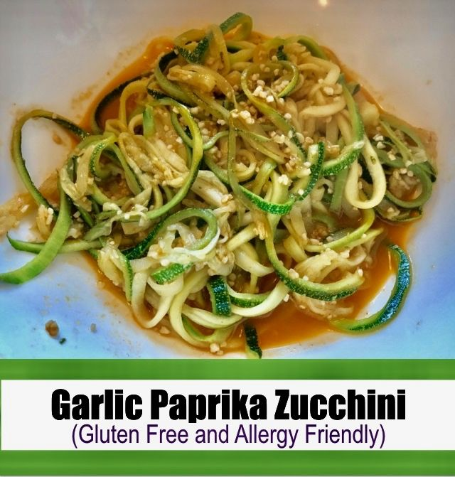 An AMAZING and flavorful garlic paprika zucchini recipe that is gluten free and allergy friendly. A way to use your summer squash or local store zucchini! . . #Allergyfrienldy #allergies #allergyfreecooking #glutenfree #gfree #healthycooking #diet #healthfood #meal #eating #gourmet #cooking #healthylifestyle #fitfood #cleaneating #transformation #nutrition #fitfam #wheatfree #eggfree #dairyfree #nutfree #treenutfree #soyfree #zucchini #vegetables #vegan #vegetarian #healthyfood…