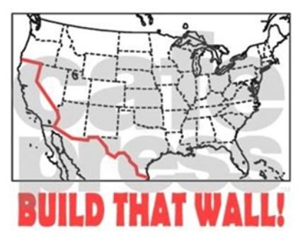 Great map of predicted wall. Build it quickly an STRONG!!!!