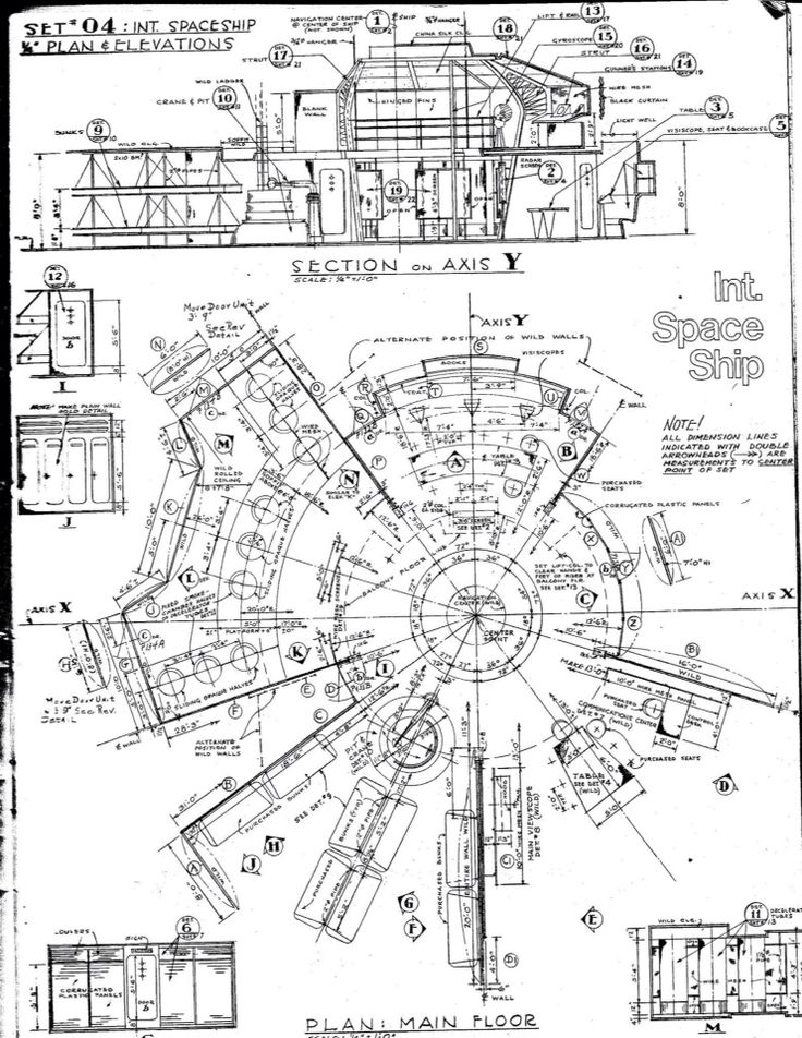 63 best tv shows movie blueprintsplansschematics images on blueprint for c 57d space cruiser forbidden planet malvernweather Image collections