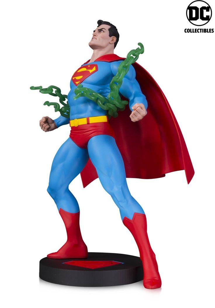 Dc Comics Designer Series Superman Neal Adams Statue Dc Comics Collectibles