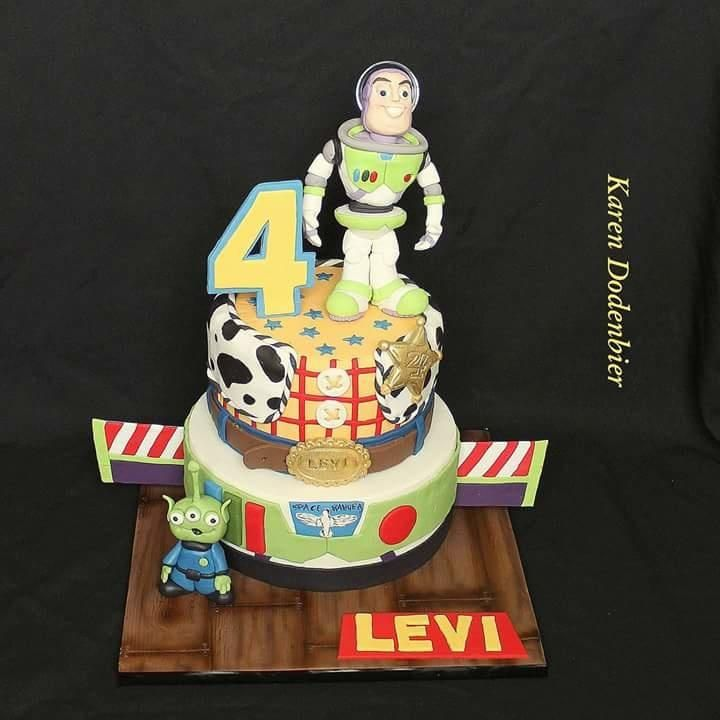 Toy Story - Buzz Lightyear by Karen Dodenbier