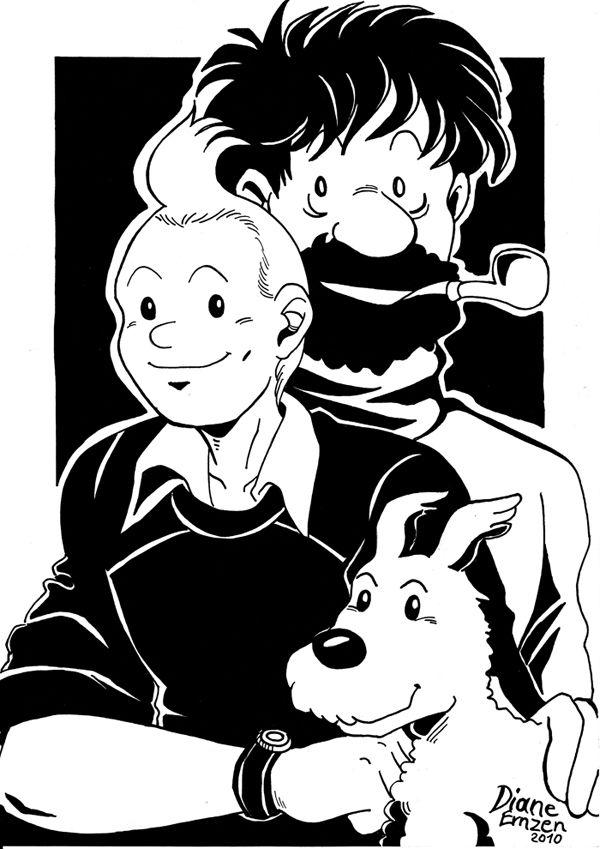 The Adventures of Tintin by Yamatoking on DeviantArt