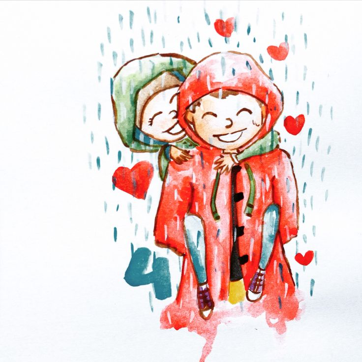 Season of joy.. Aquarelle with koi watercolor :)
