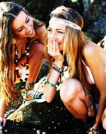 hippy chics