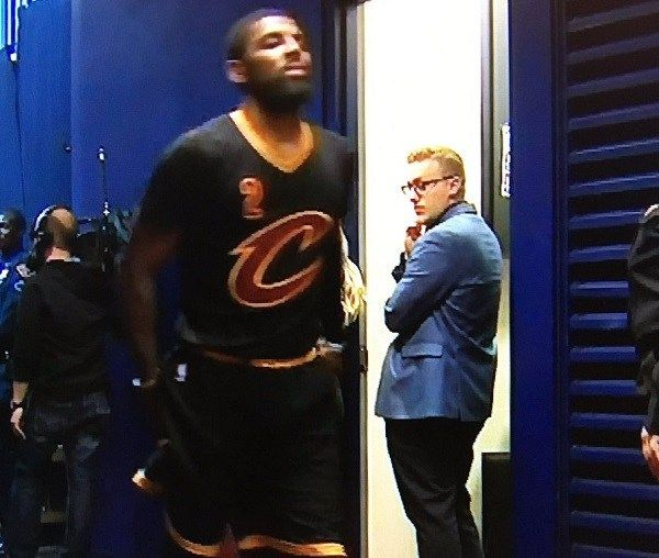 Kyrie Irving limps off court, possibly with hamstring injury - http://www.truesportsfan.com/kyrie-irving-limps-off-court-possibly-with-hamstring-injury/