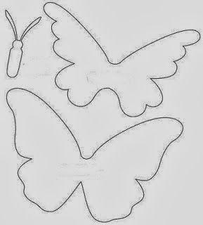 Tığ işi Boncuk ile Kelebek Süslemesi Şeması