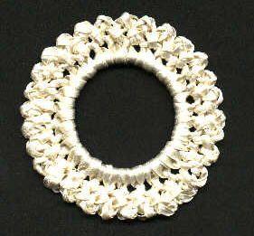 Free Crochet Pattern - Quick Satin Scrunchie