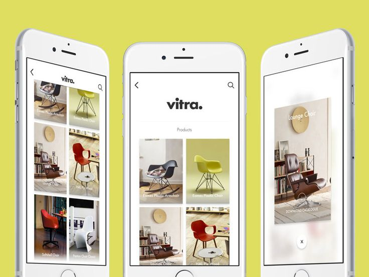 Vitra - Gallery App and Prototype