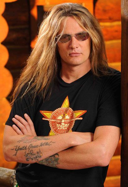 Sebastian Bach - my legs were like jello walking away from this one!